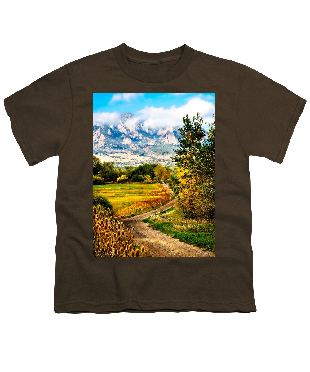 Americana Youth T-Shirt featuring the photograph Clearly Colorado by Marilyn Hunt