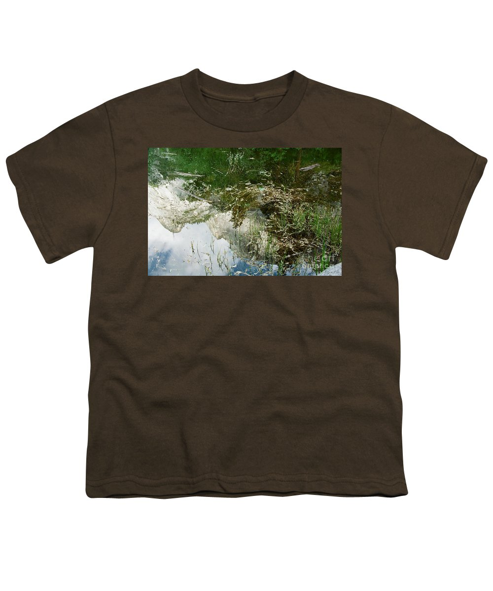 Mirror Lake Youth T-Shirt featuring the photograph Confusion by Kathy McClure