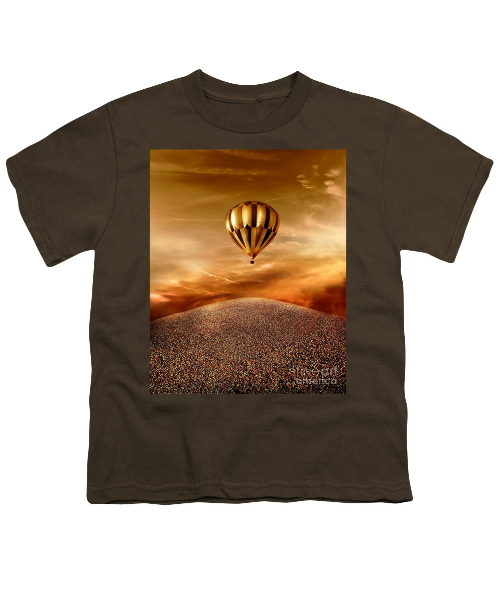 Golden Youth T-Shirt featuring the photograph Dream by Jacky Gerritsen