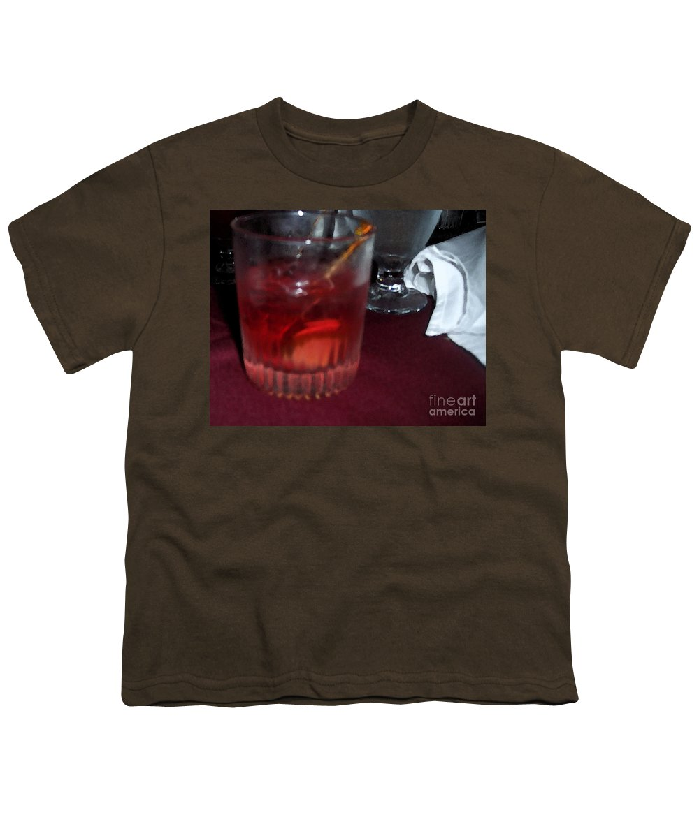 Drinks Youth T-Shirt featuring the photograph Drink Up by Debbi Granruth