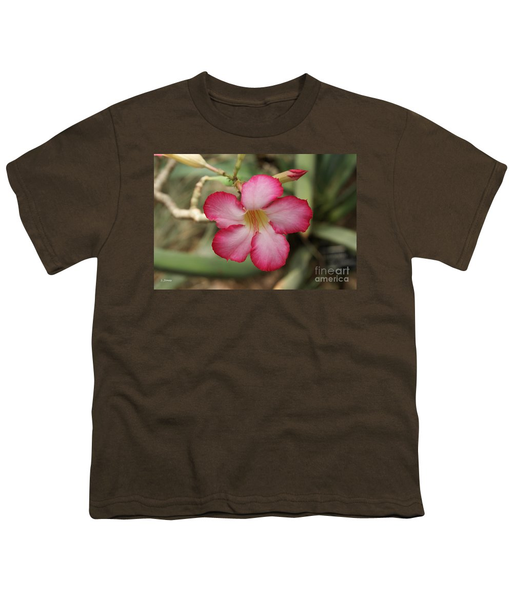 Floral Youth T-Shirt featuring the photograph Elegant by Shelley Jones