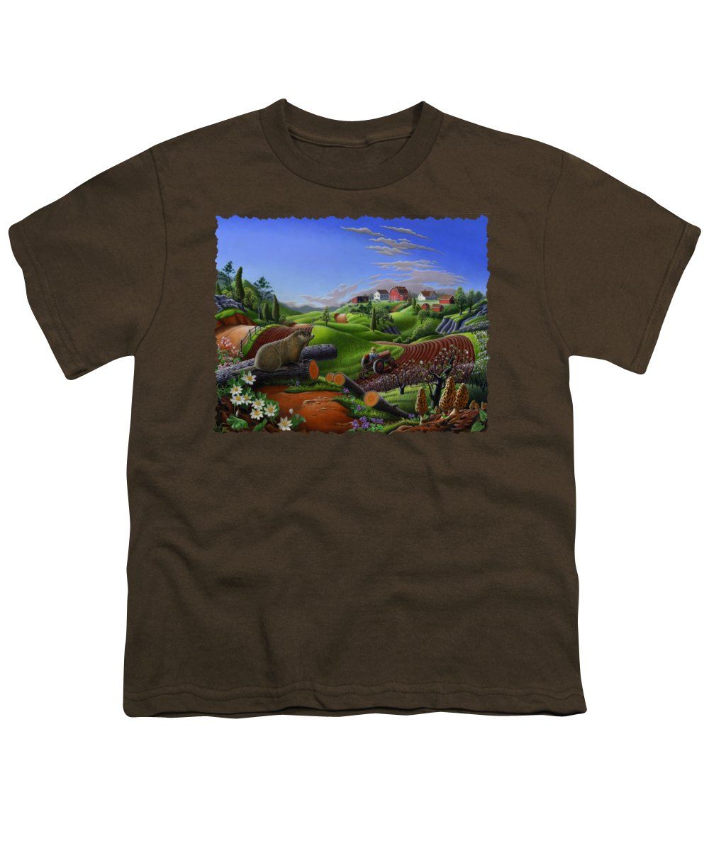 Groundhog Youth T-Shirts