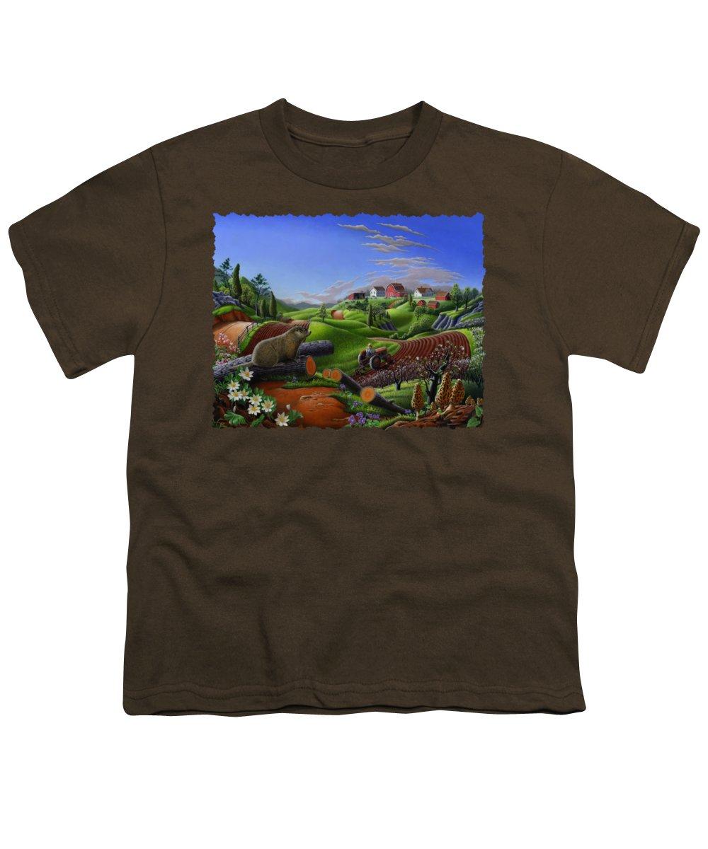Groundhog Youth T-Shirts