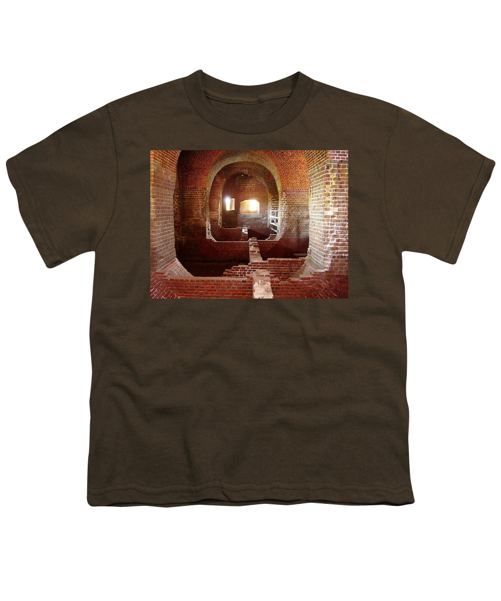 Fort Pulaski Youth T-Shirt featuring the photograph Fort Pulaski I by Flavia Westerwelle