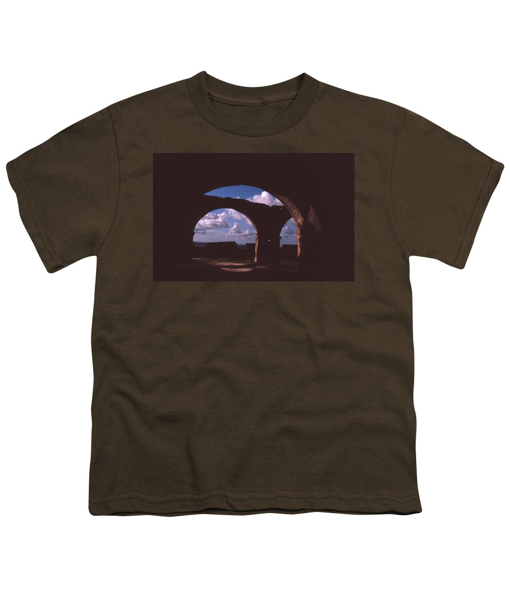 Bahia Youth T-Shirt featuring the photograph Fortaleza De Morro De Sao Paulo by Patrick Klauss
