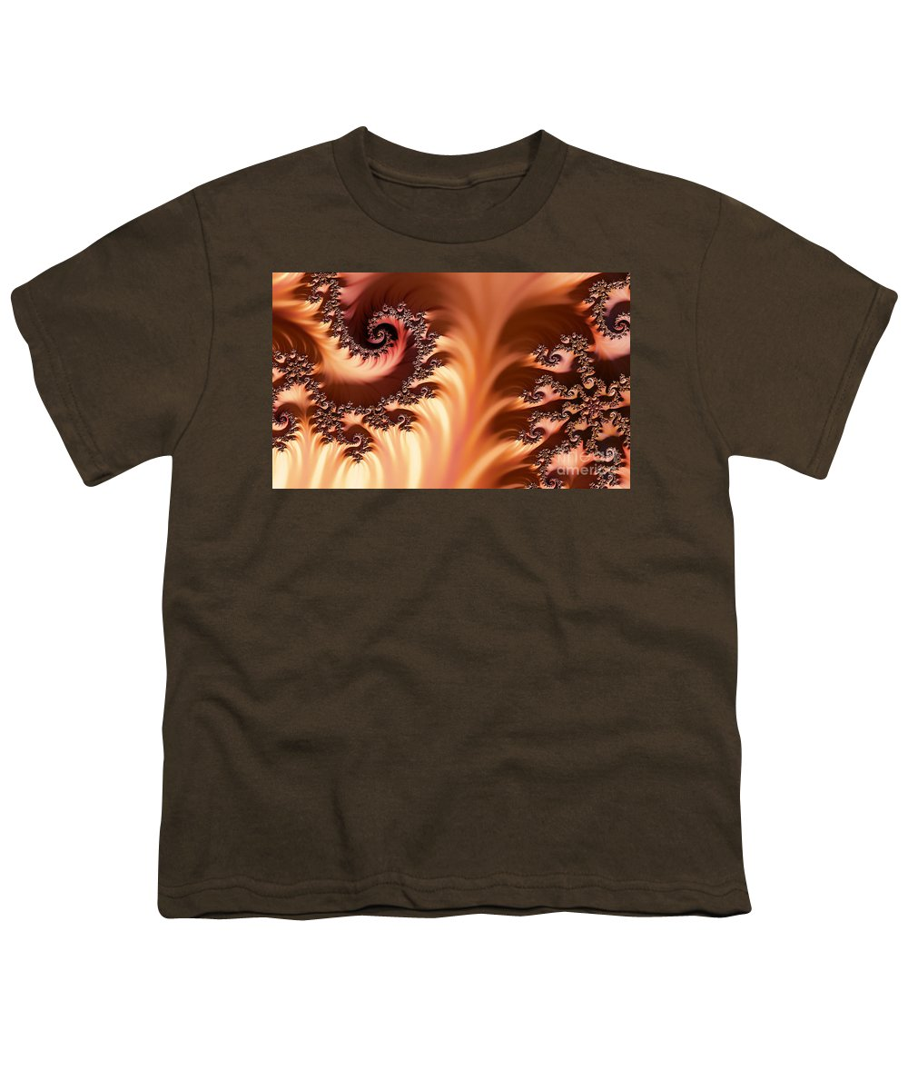 Clay Youth T-Shirt featuring the digital art Fractal Desert by Clayton Bruster