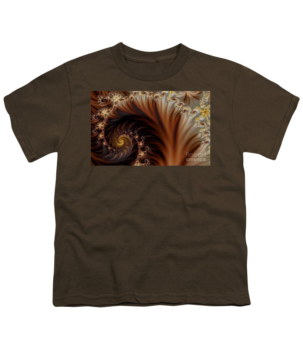 Clay Youth T-Shirt featuring the digital art Gold In Them Hills by Clayton Bruster