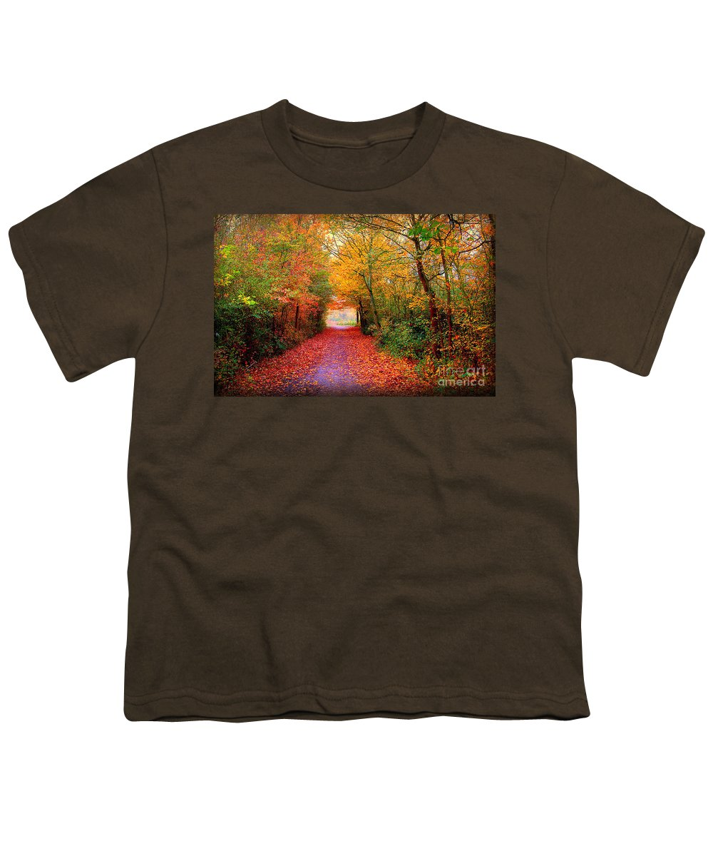 Autumn Youth T-Shirt featuring the photograph Hope by Jacky Gerritsen