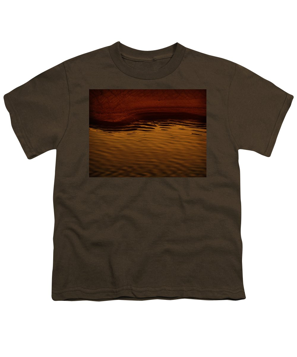 Abstract Youth T-Shirt featuring the photograph I Want To Wake Up Where You Are by Dana DiPasquale
