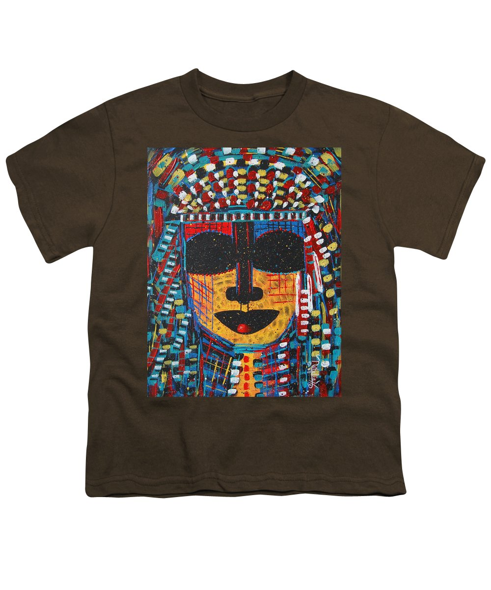 Abstract Youth T-Shirt featuring the painting Isatoria by Natalie Holland