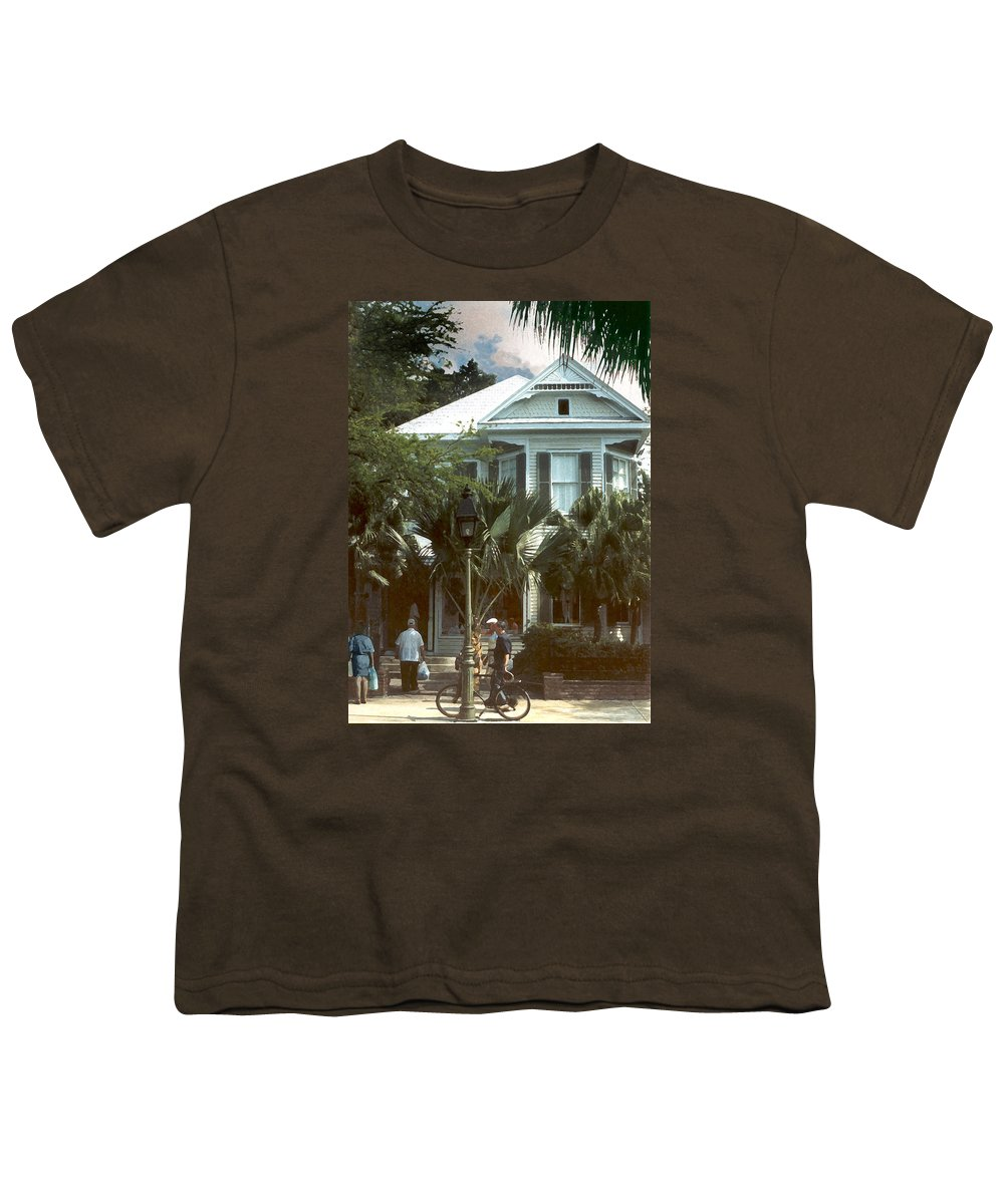 Historic Youth T-Shirt featuring the photograph Keywest by Steve Karol