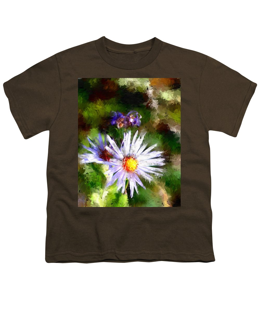 Flower Youth T-Shirt featuring the photograph Last Rose Of Summer by David Lane