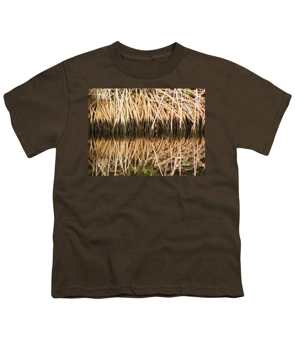 Plants Youth T-Shirt featuring the photograph Little Feet by Ed Smith