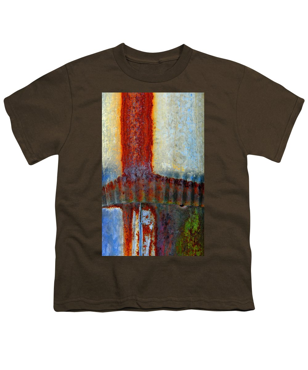 Skip Hunt Youth T-Shirt featuring the photograph Magma by Skip Hunt