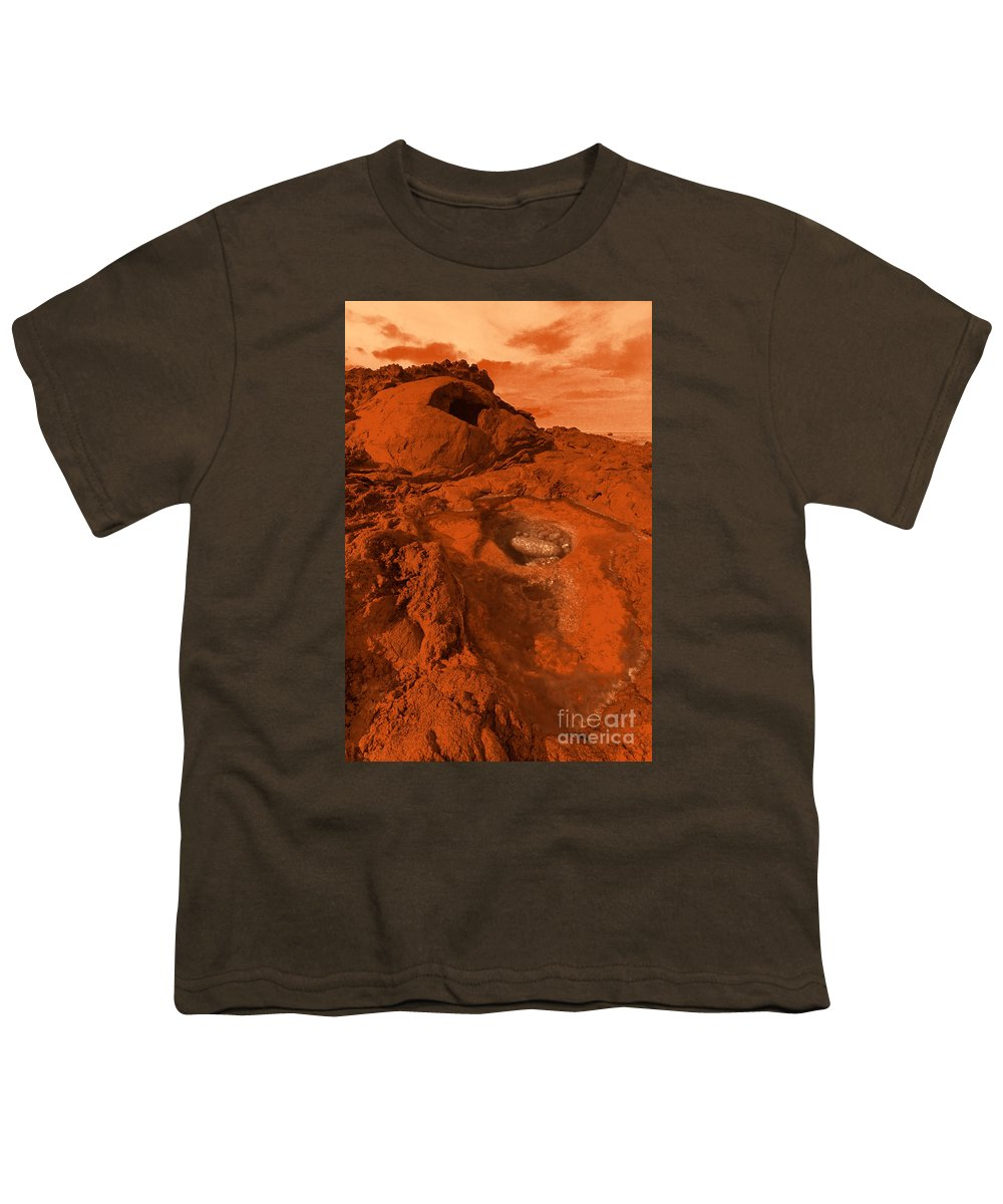 Alien Youth T-Shirt featuring the photograph Mars Landscape by Gaspar Avila