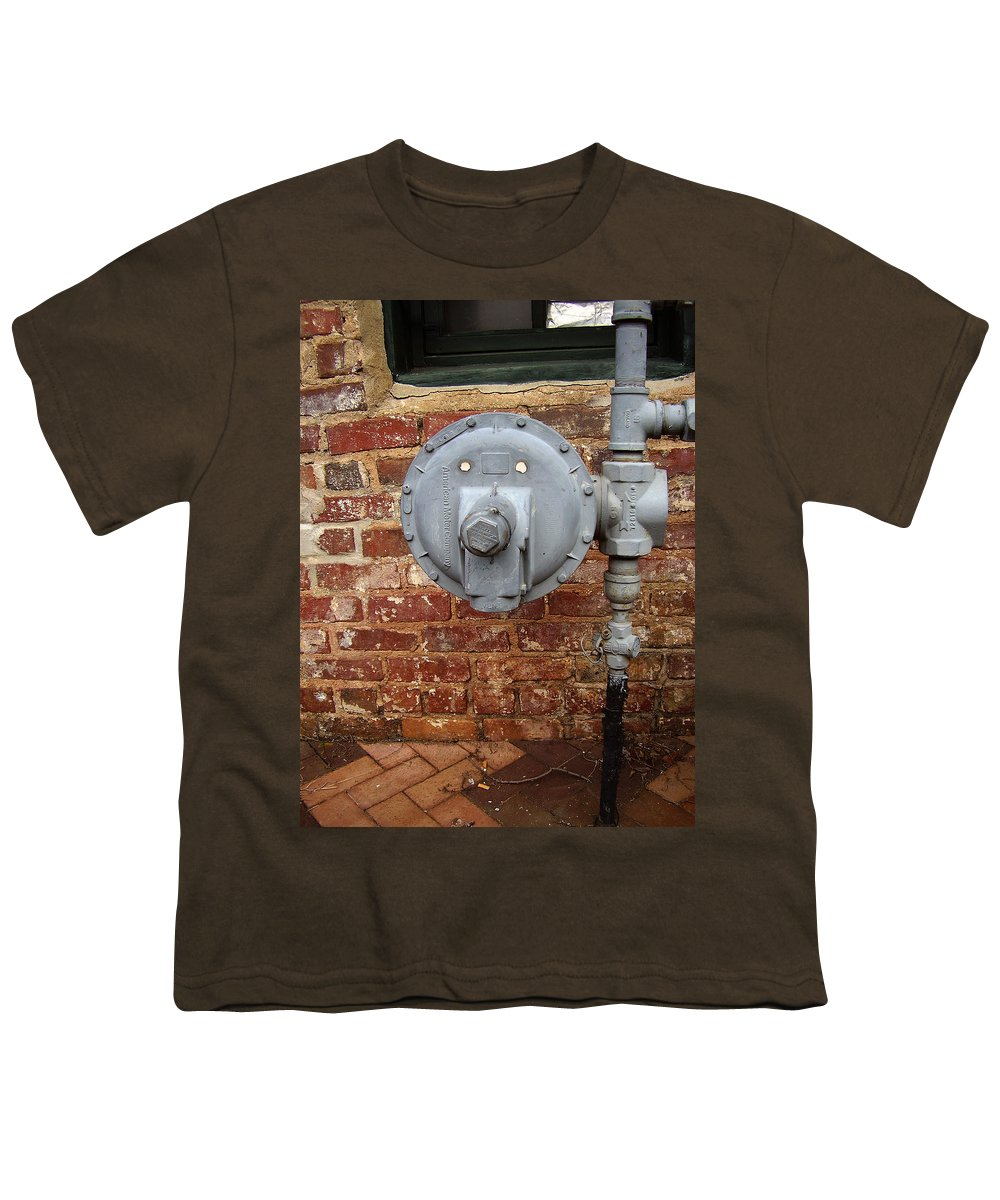 Meter Youth T-Shirt featuring the photograph Meter In Athens Ga by Flavia Westerwelle