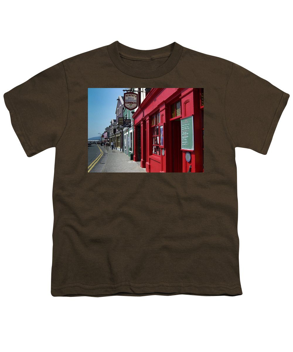 Irish Youth T-Shirt featuring the photograph Murphys Bed And Breakfast Dingle Ireland by Teresa Mucha