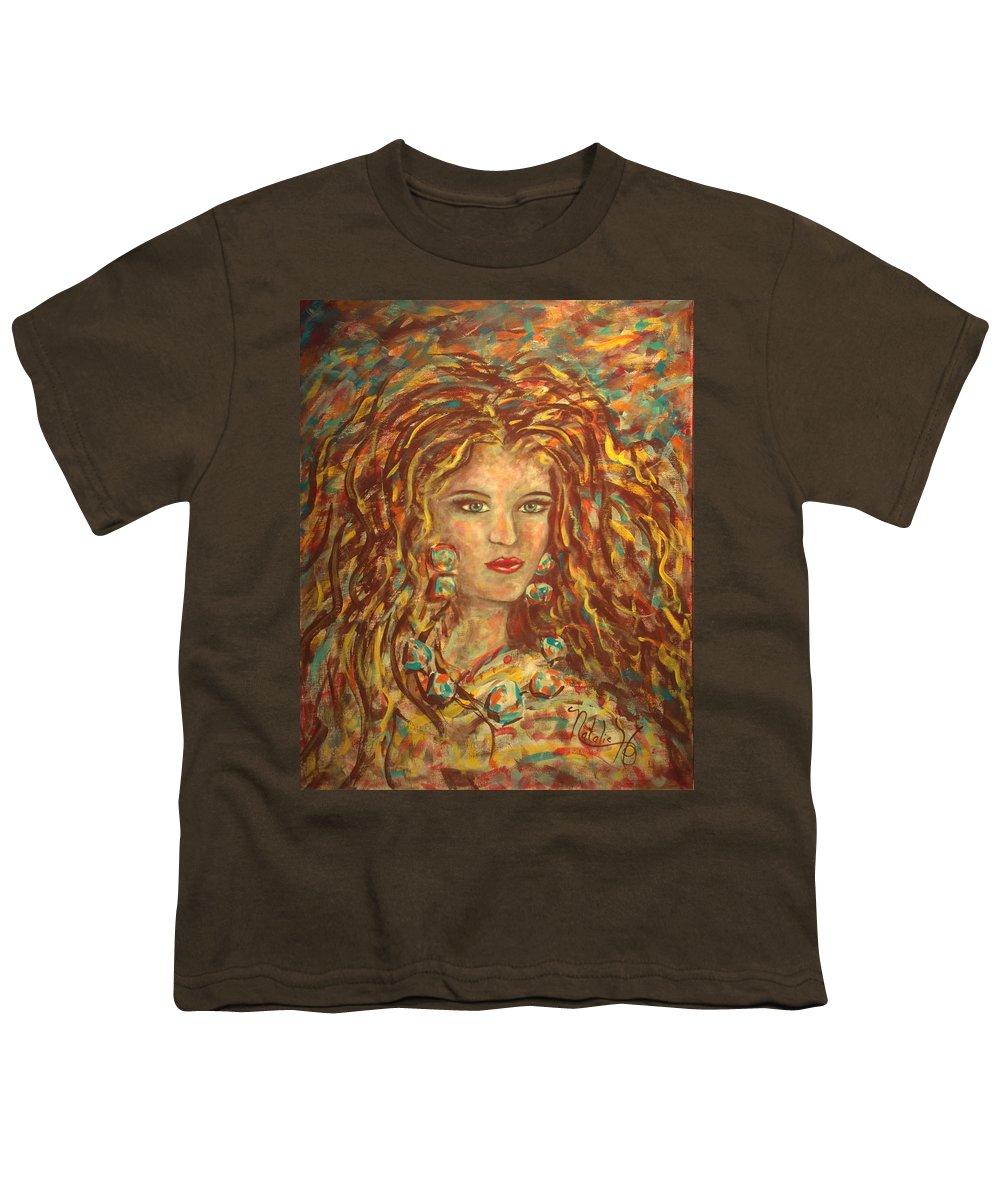 Natashka Youth T-Shirt featuring the painting Natashka by Natalie Holland