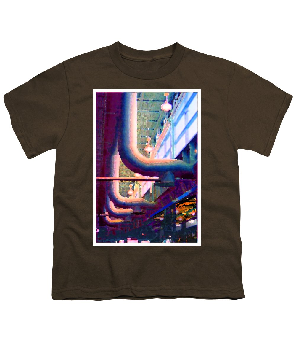 Abstract Youth T-Shirt featuring the photograph panel one from Star Factory by Steve Karol