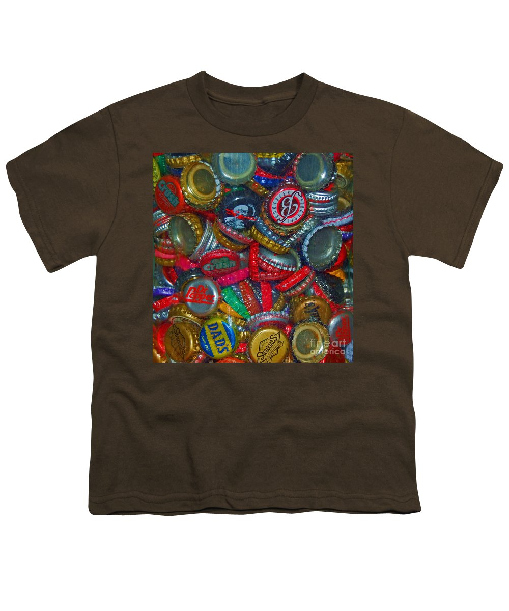 Bottles Youth T-Shirt featuring the photograph Pop Art by Debbi Granruth