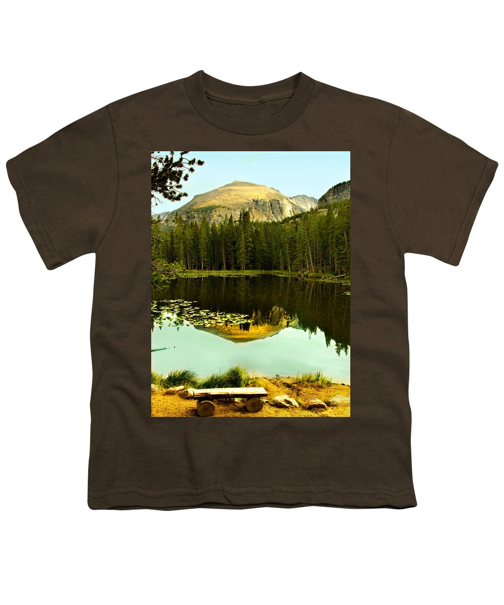 Reflection Youth T-Shirt featuring the photograph Reflection by Marilyn Hunt