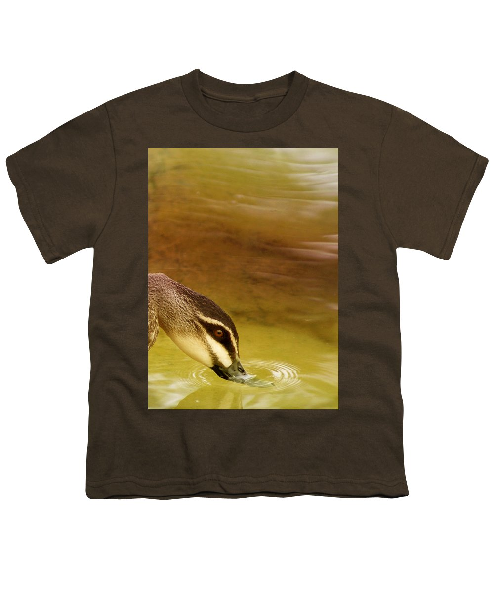 Animals Youth T-Shirt featuring the photograph Ripples by Holly Kempe