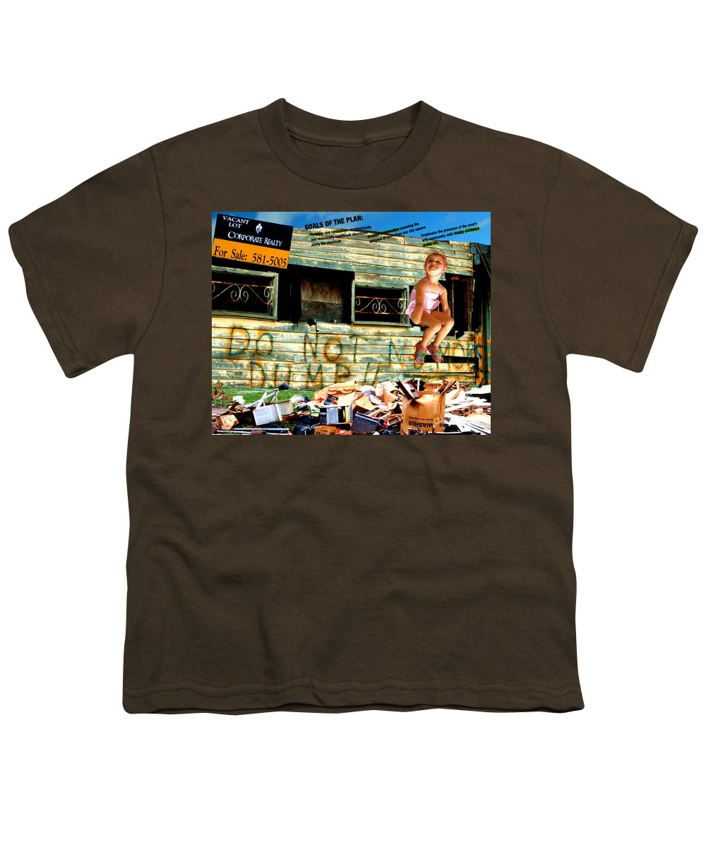 Riverfront Development Youth T-Shirt featuring the photograph Riverfront Visions by Ze DaLuz