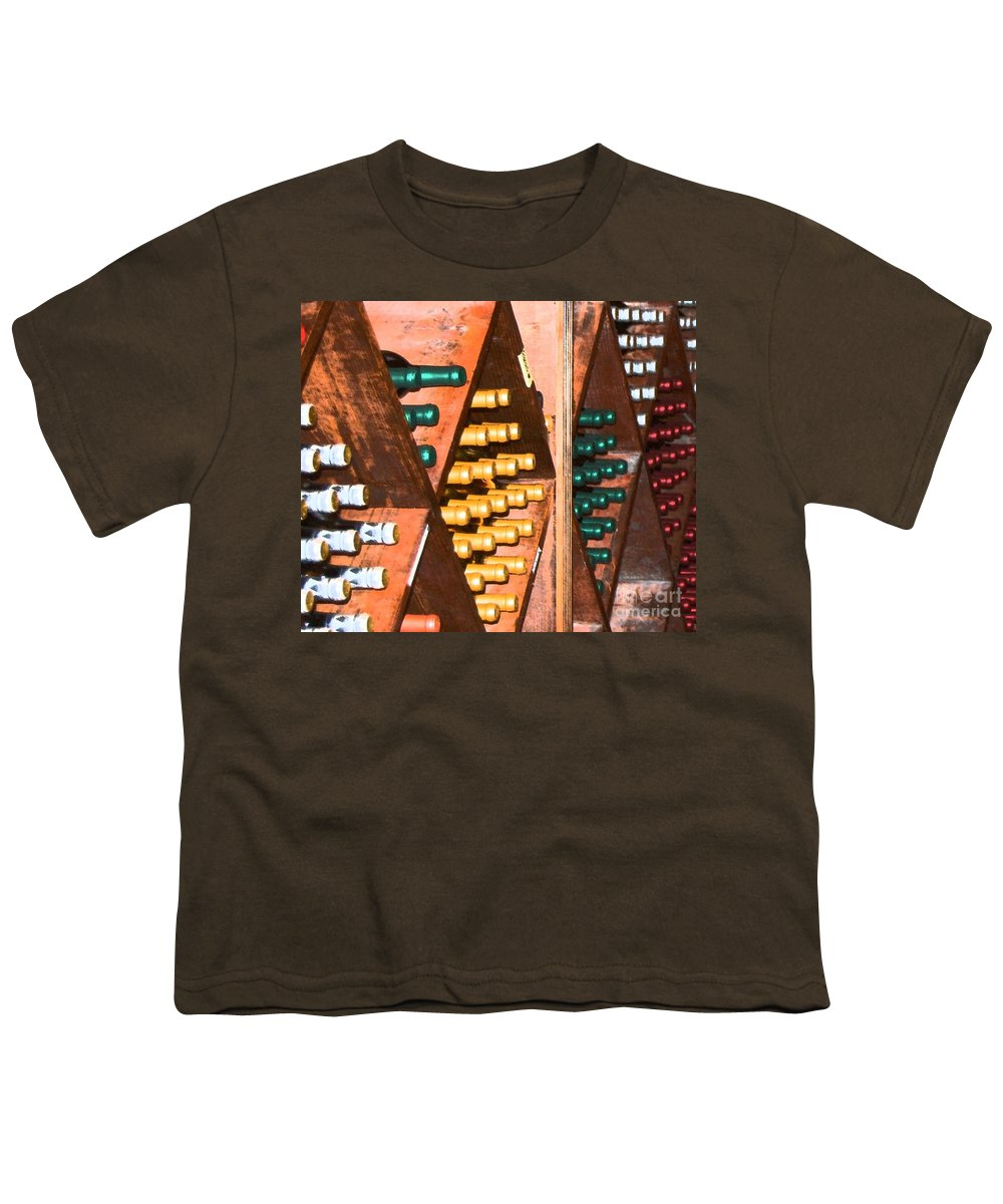 Wine Youth T-Shirt featuring the photograph Sideways by Debbi Granruth
