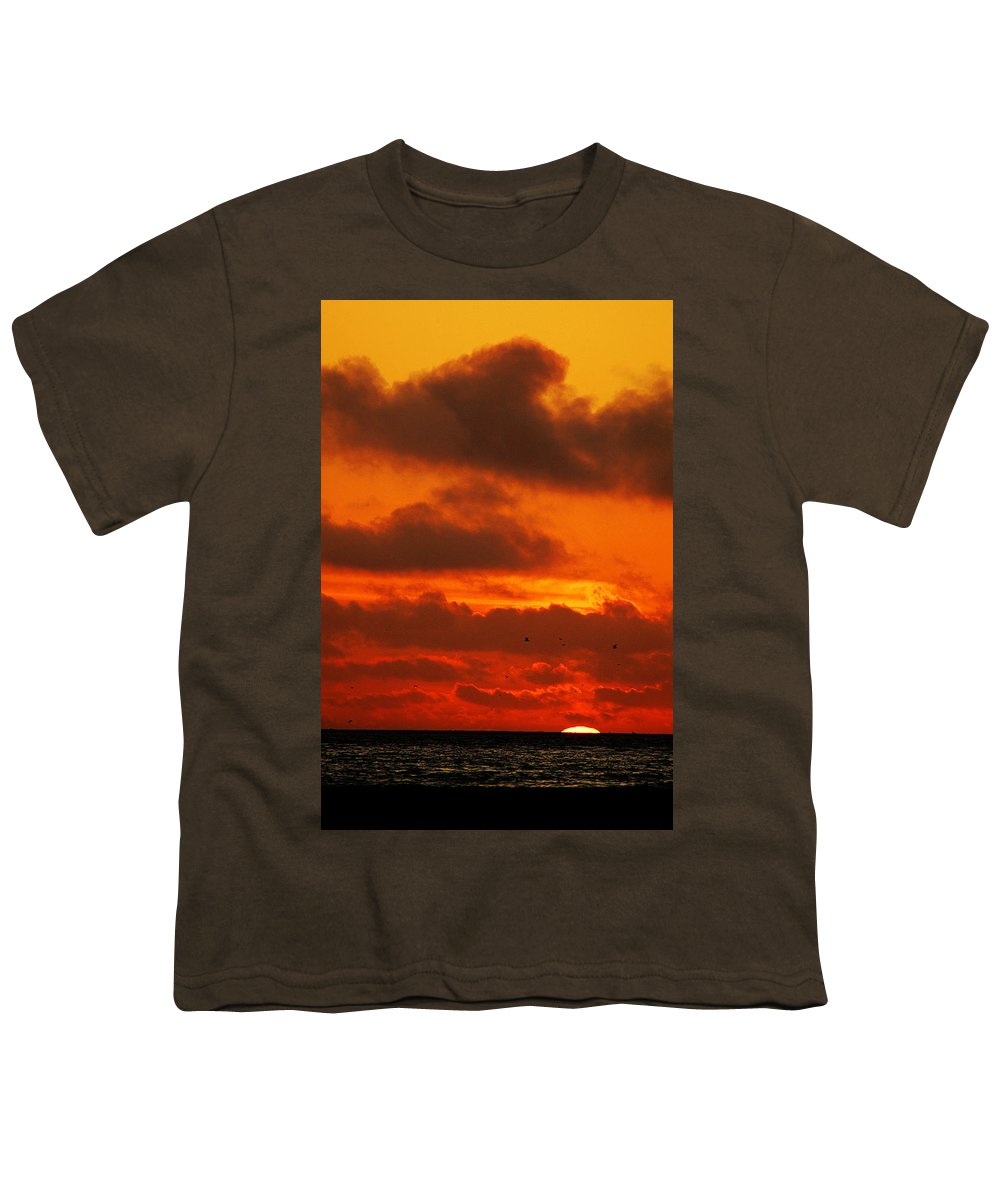 Clay Youth T-Shirt featuring the photograph Socal Sunset by Clayton Bruster
