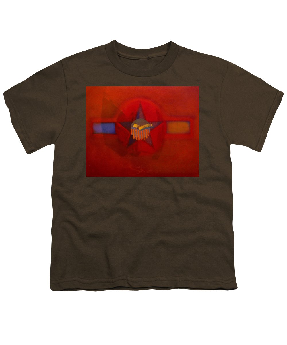 Warm Youth T-Shirt featuring the painting Sub Decal by Charles Stuart