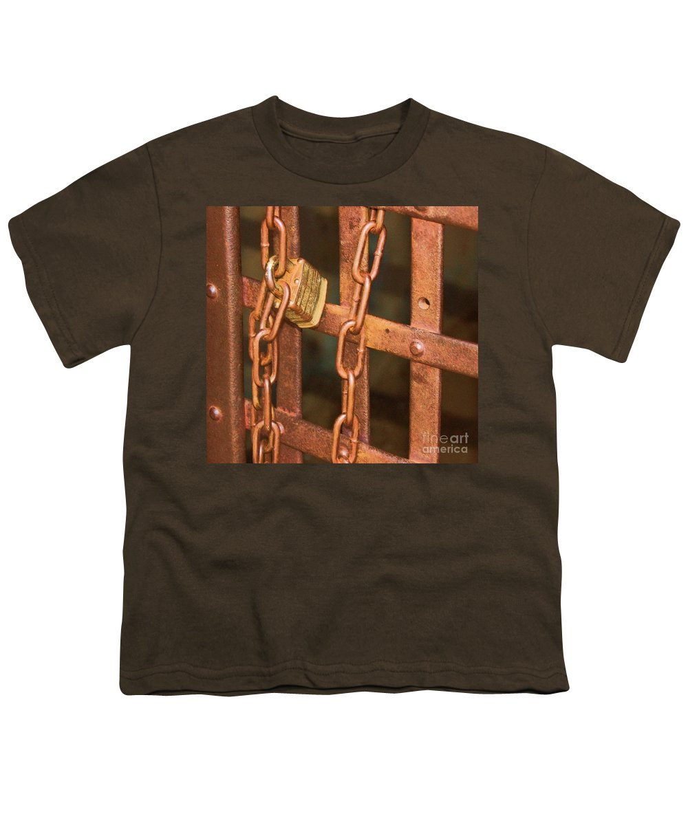 Metal Youth T-Shirt featuring the photograph Tarnished Image by Debbi Granruth