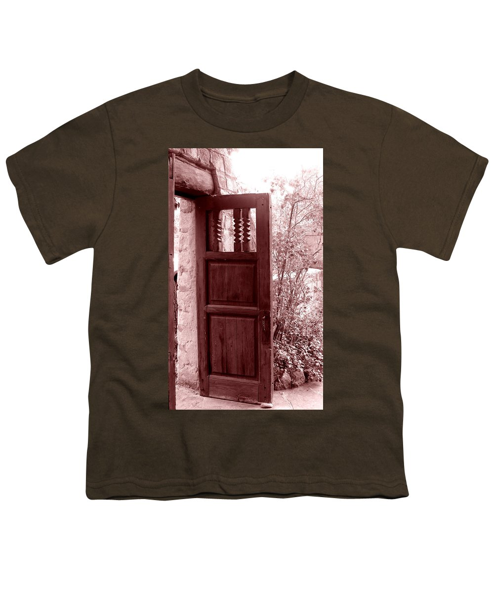 Door Youth T-Shirt featuring the photograph The Door by Wayne Potrafka