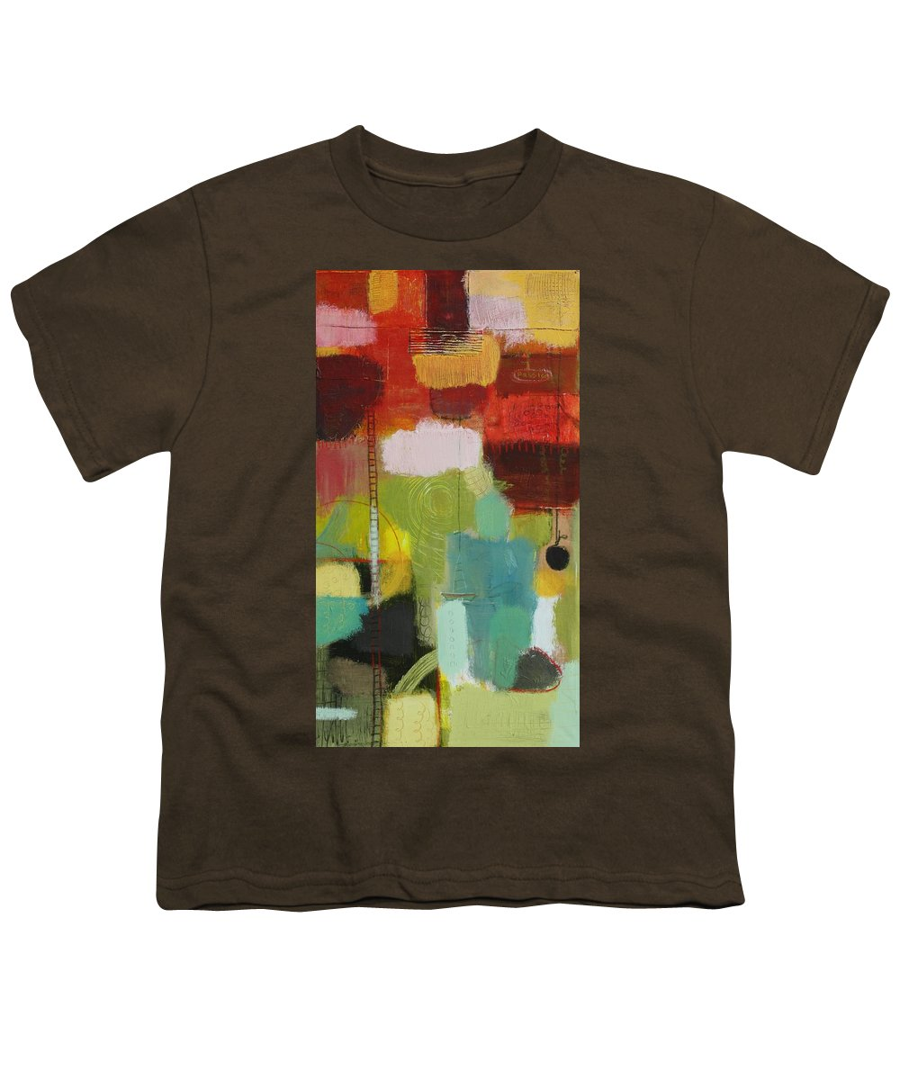 Abstract Youth T-Shirt featuring the painting The Ladder Of Life by Habib Ayat