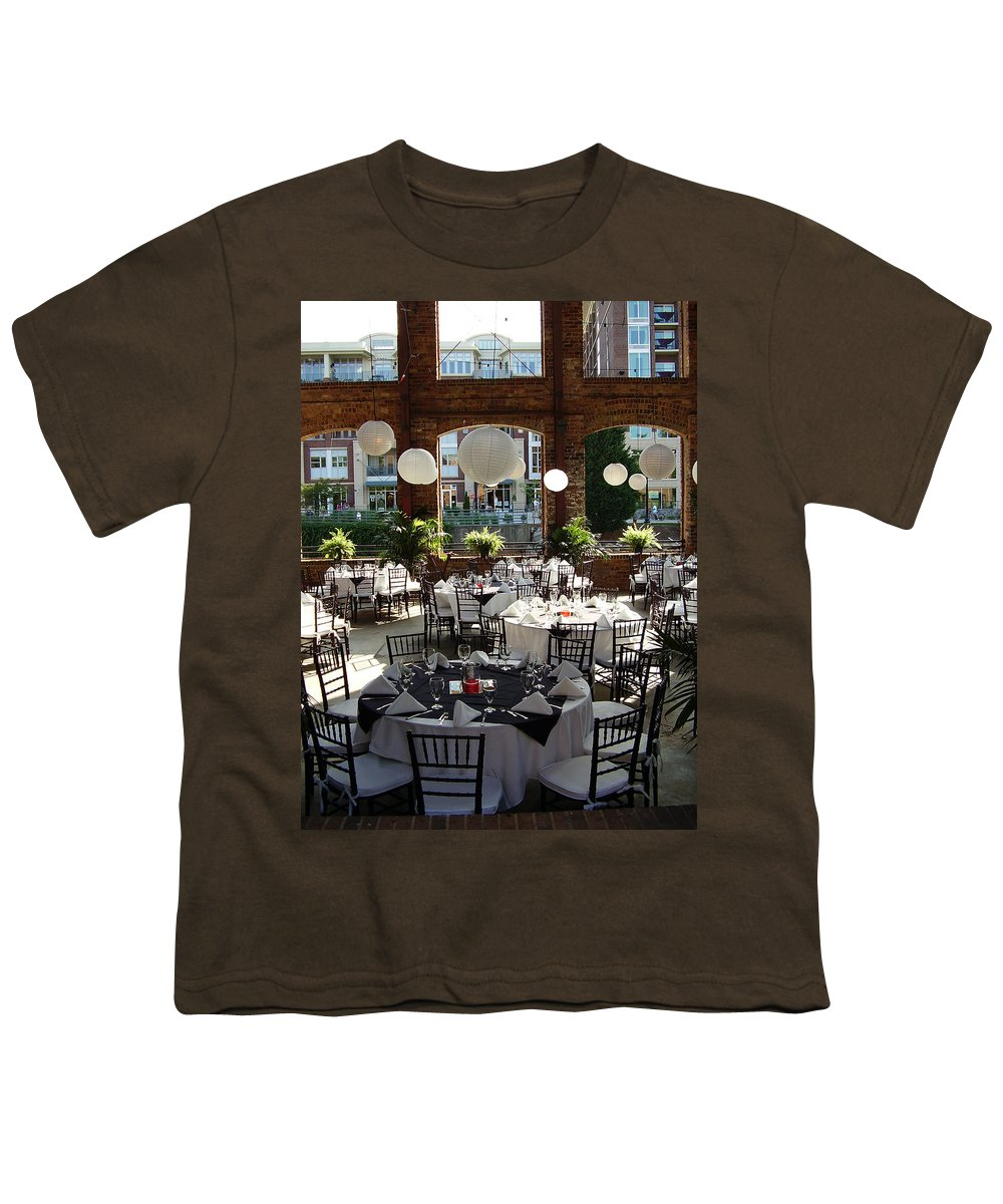 Markley Carriage Youth T-Shirt featuring the photograph Wedding by Flavia Westerwelle