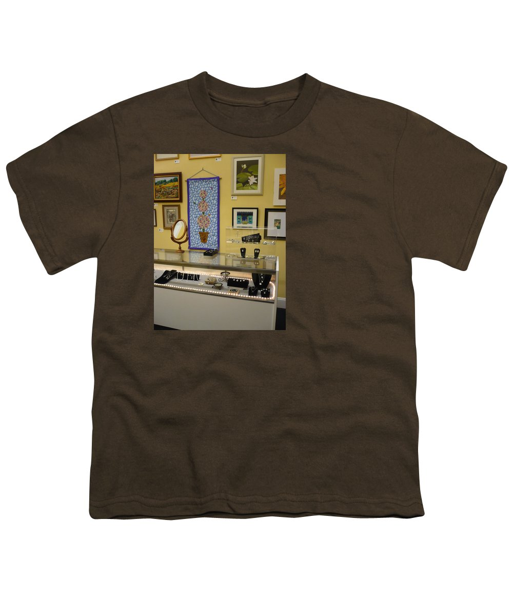 Oil Youth T-Shirt featuring the painting World-view by Sergey Ignatenko