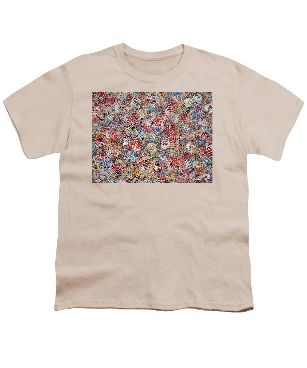 Golf Youth T-Shirt featuring the painting Golf by Natalie Holland