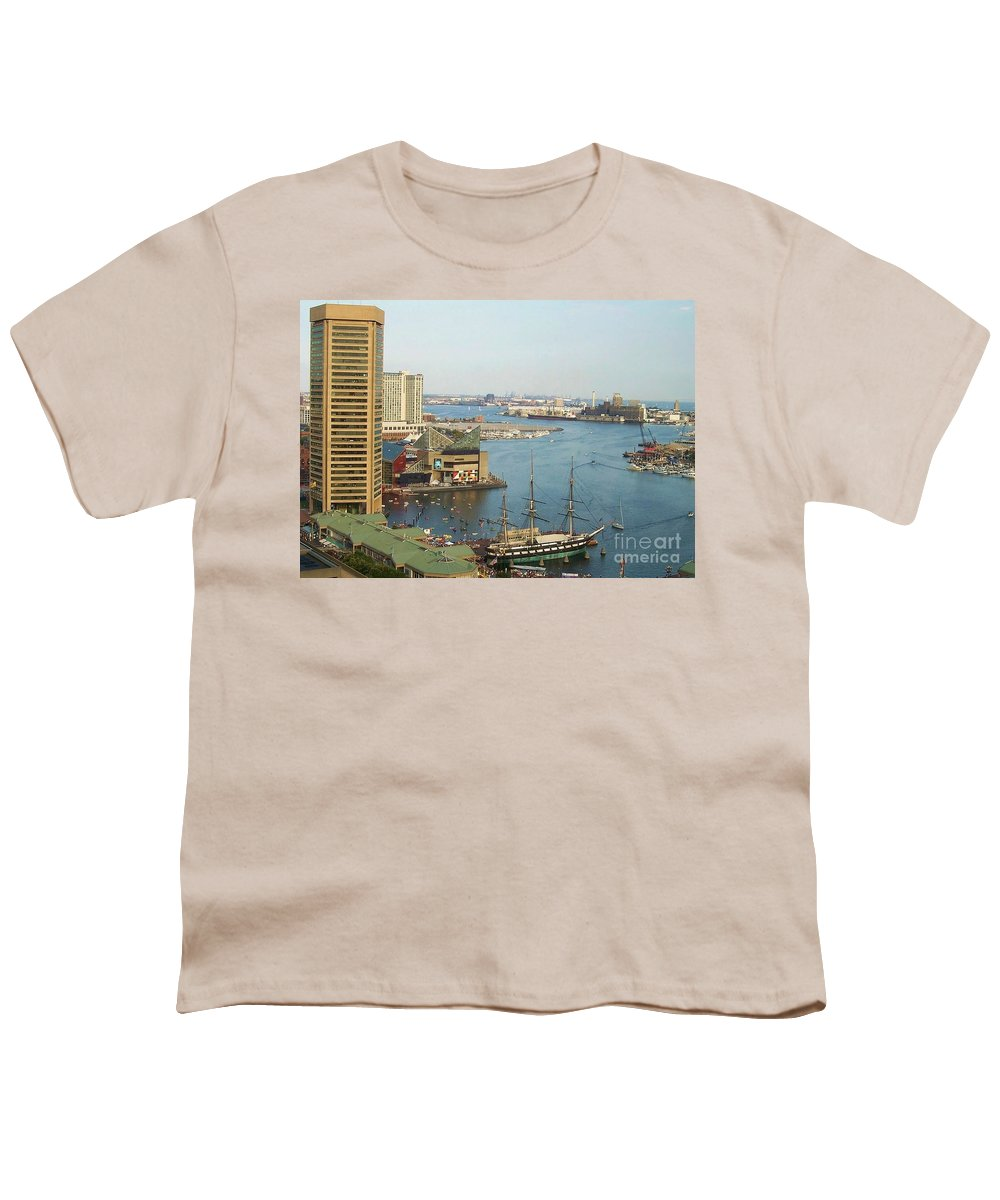 Baltimore Youth T-Shirt featuring the photograph Baltimore by Debbi Granruth