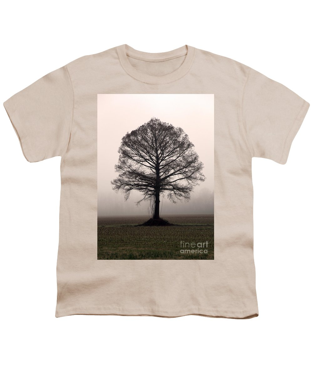 Trees Youth T-Shirt featuring the photograph The Tree by Amanda Barcon