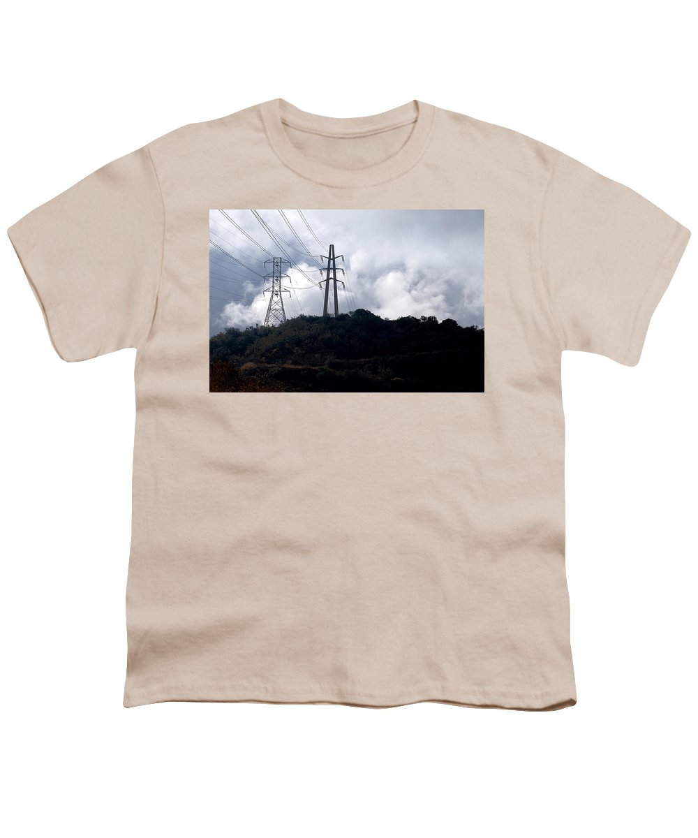 Clay Youth T-Shirt featuring the photograph Clouds by Clayton Bruster
