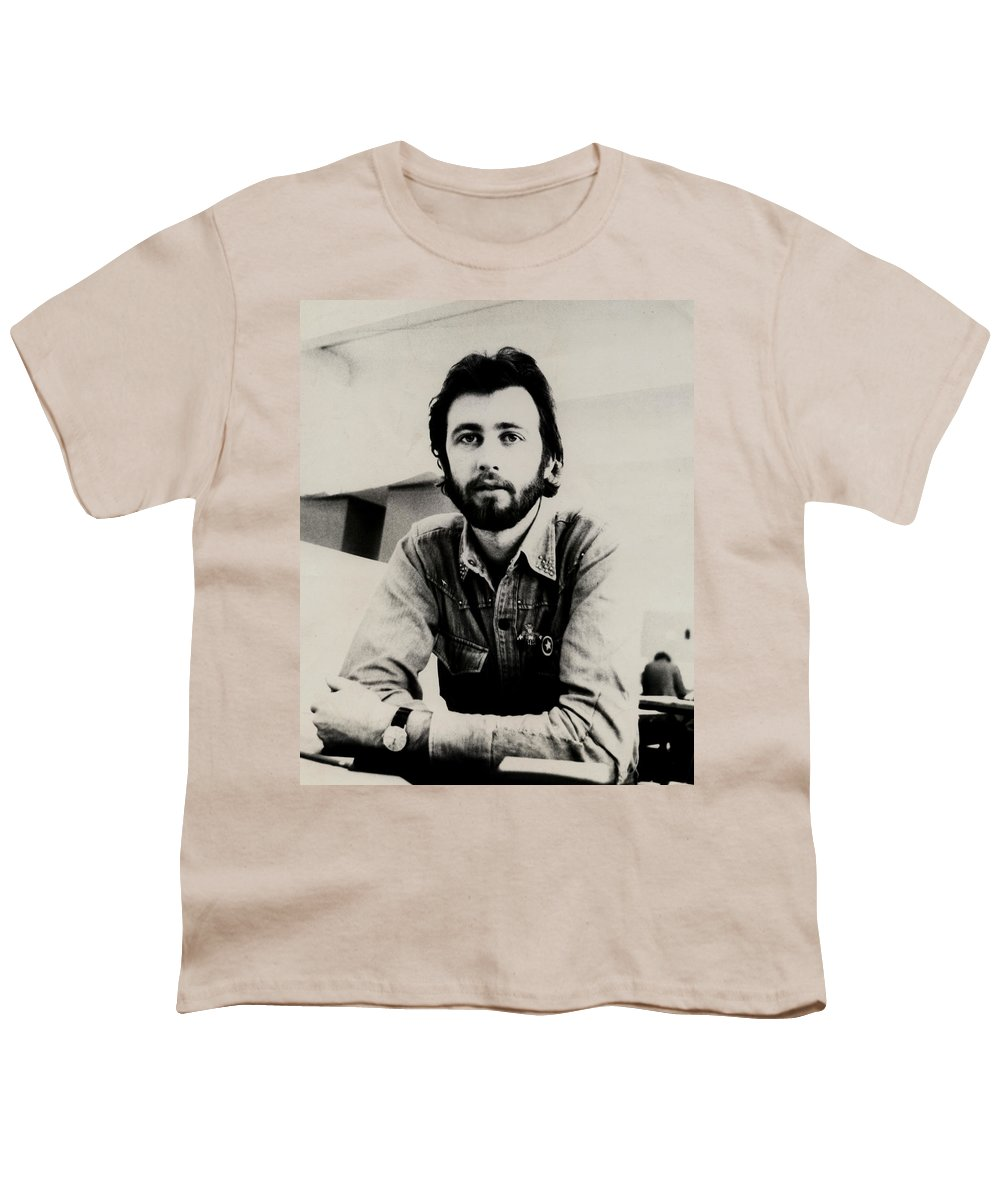 Young Man Youth T-Shirt featuring the photograph A Portrait Of The Artist As A Young Man by Charles Stuart