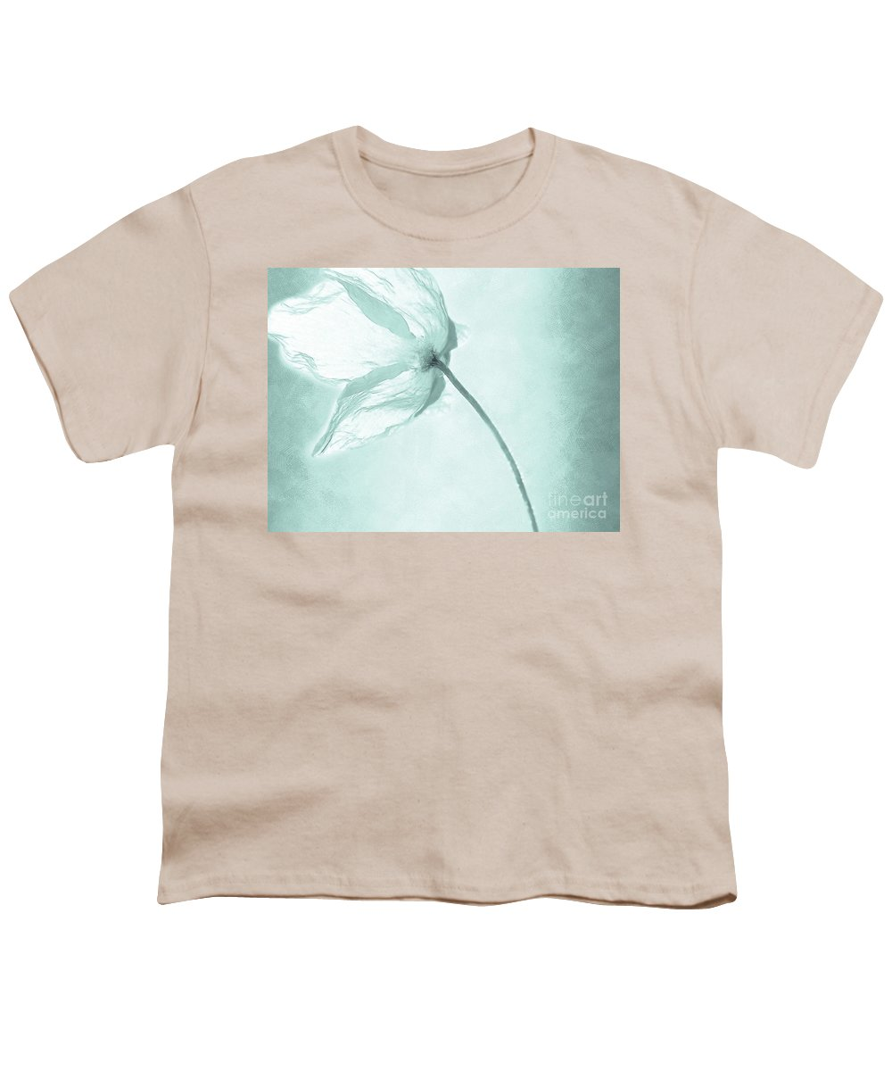 Flower Youth T-Shirt featuring the painting Breeze by Jacky Gerritsen