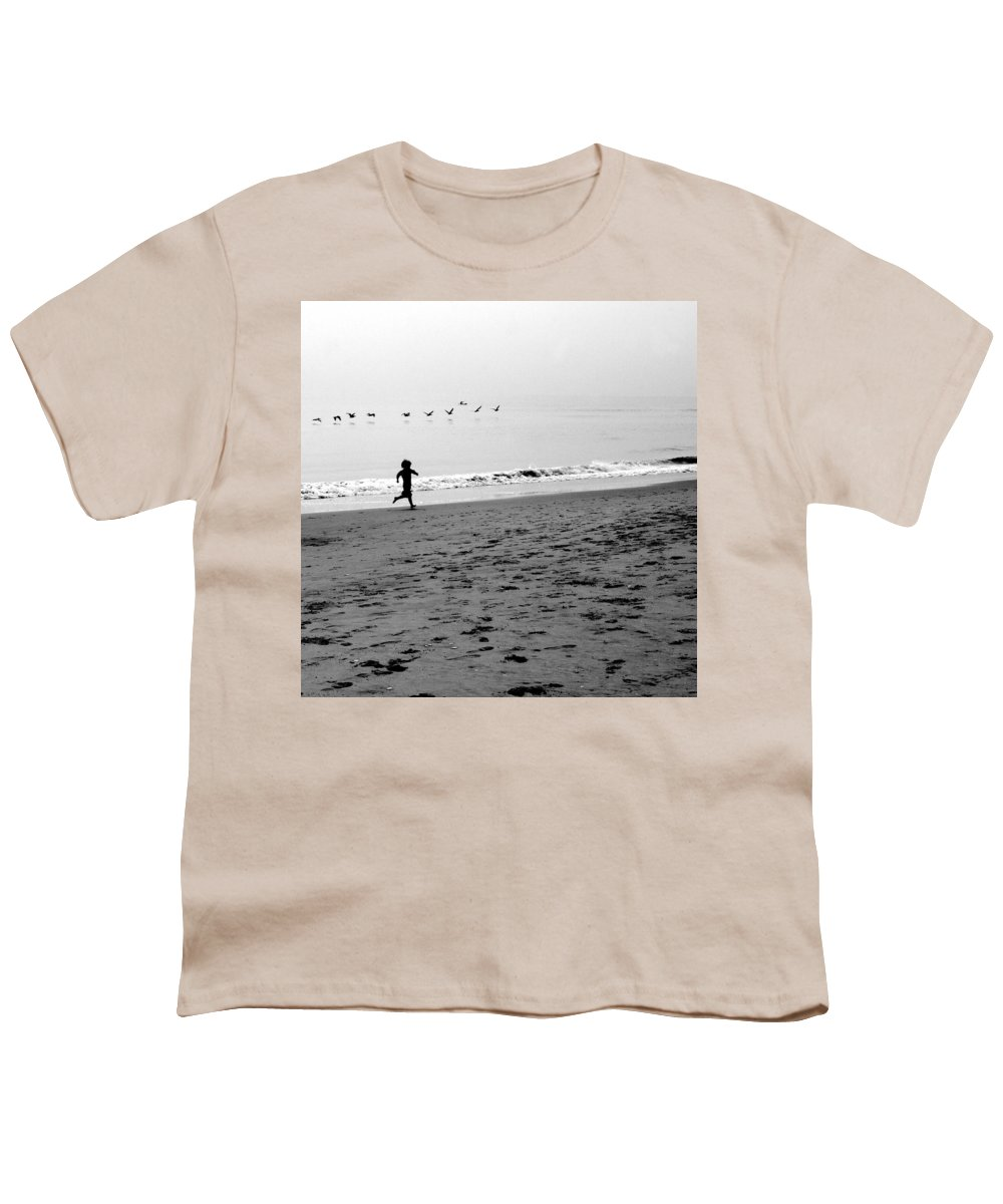 Photograph Youth T-Shirt featuring the photograph Carefree by Jean Macaluso