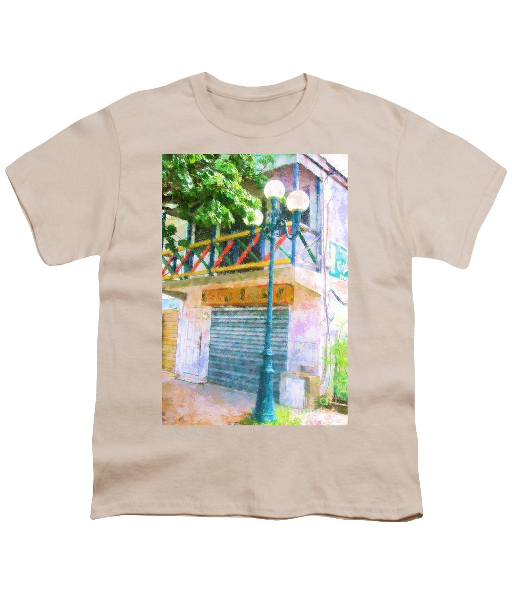 St. Martin Youth T-Shirt featuring the photograph Cest La Vie by Debbi Granruth