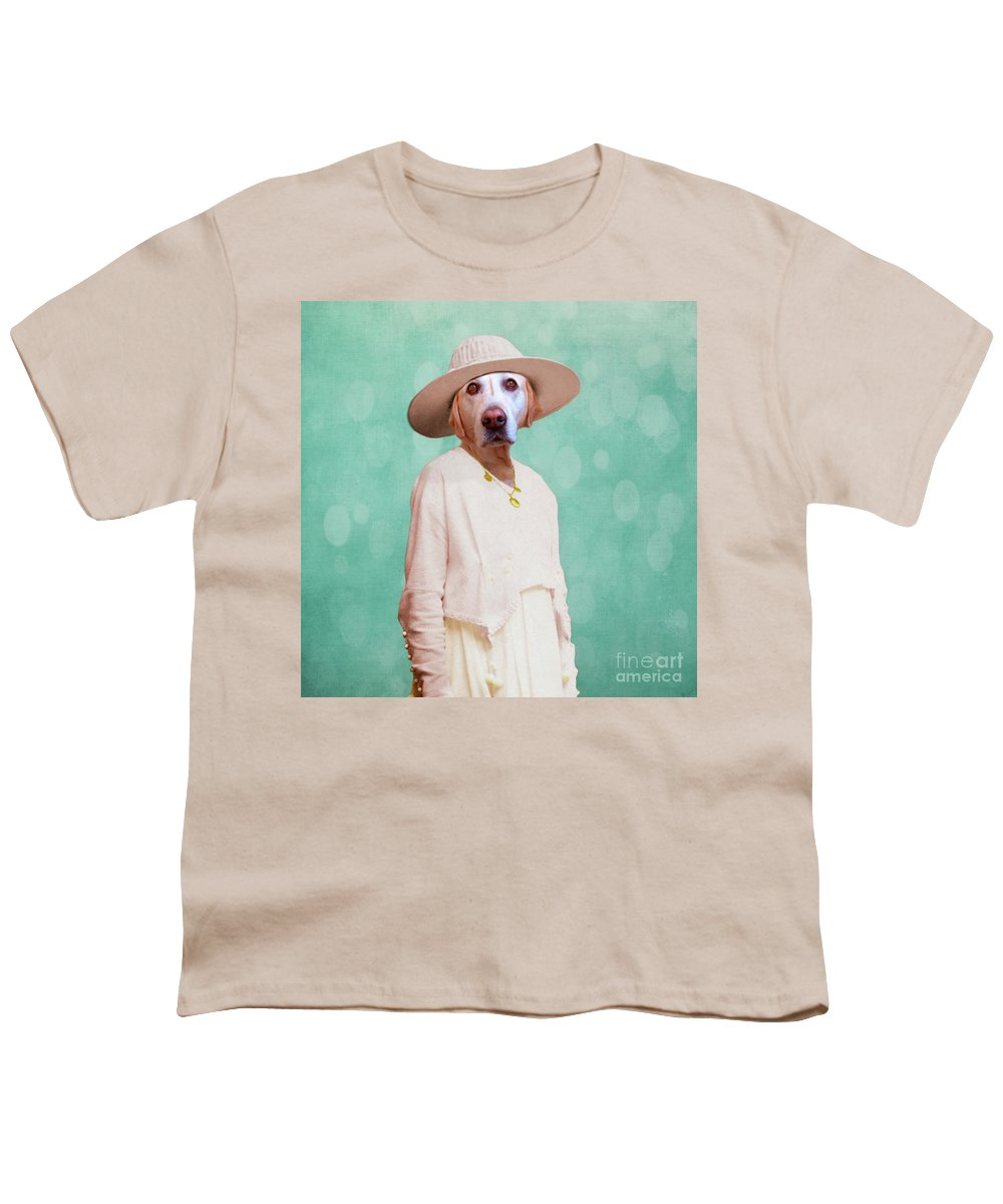 Dog Youth T-Shirt featuring the digital art Desperate Housewife by Martine Roch