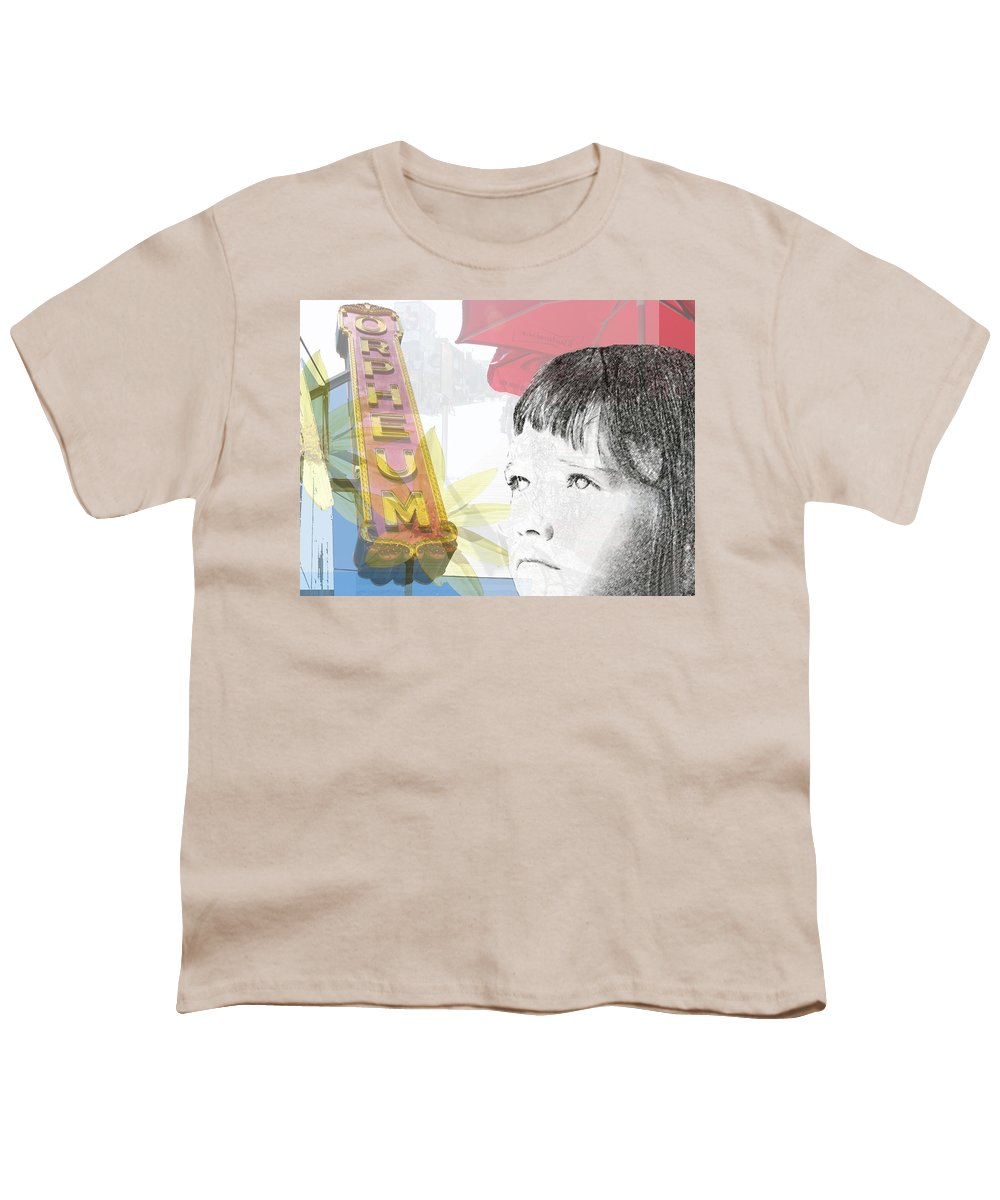 Memphis Youth T-Shirt featuring the photograph Dreams Of Memphis by Amanda Barcon