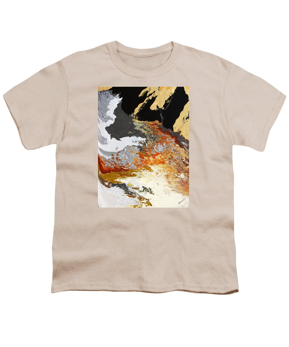 Fusionart Youth T-Shirt featuring the painting Fathom by Ralph White