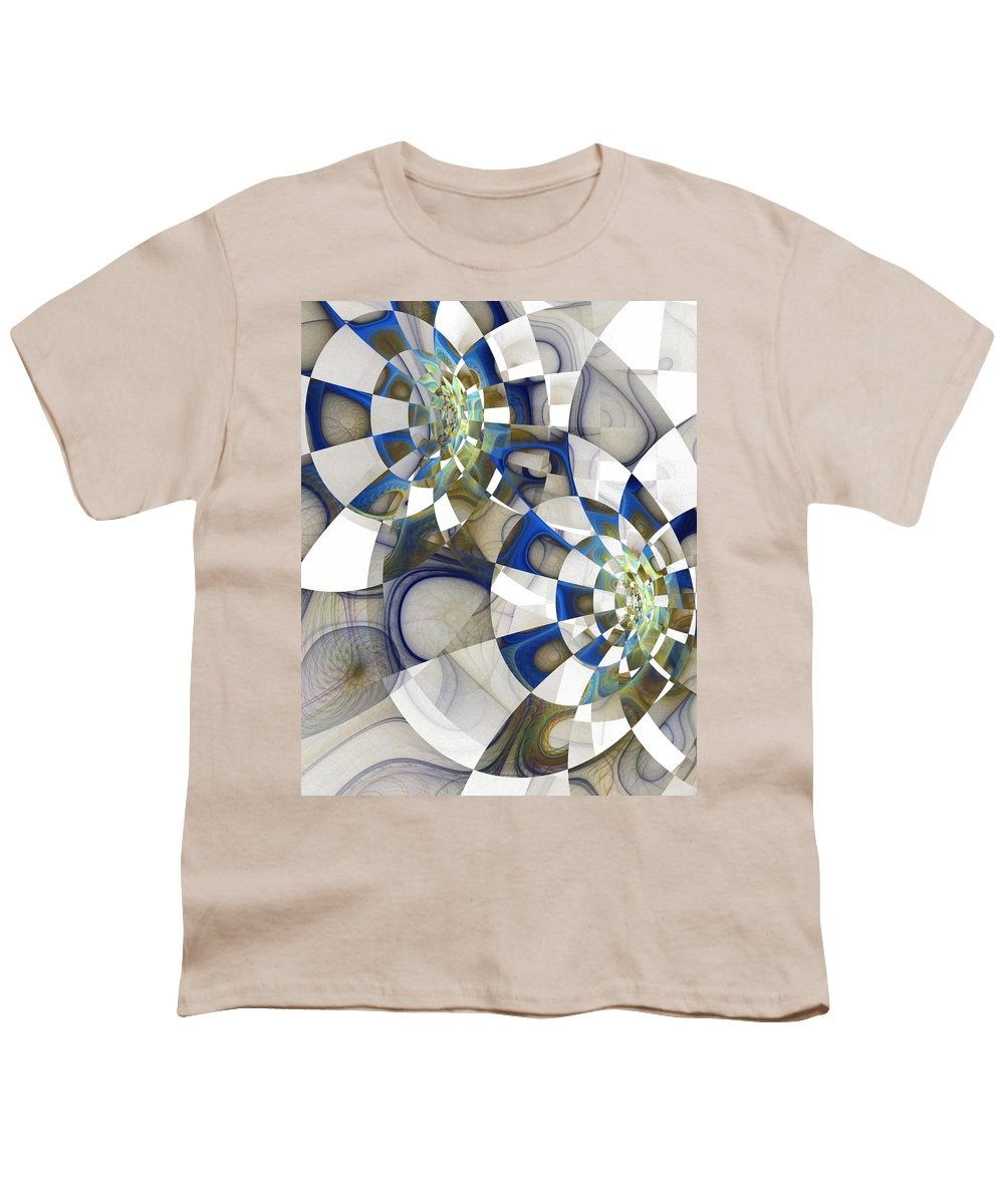 Digital Art Youth T-Shirt featuring the digital art Flight by Amanda Moore