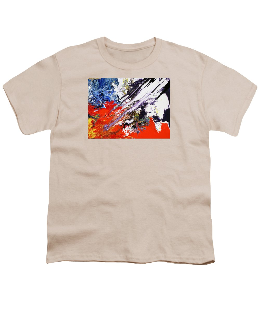 Fusionart Youth T-Shirt featuring the painting Genesis by Ralph White