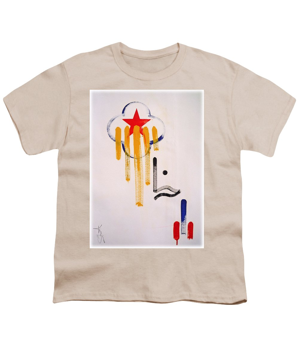 Drawing Youth T-Shirt featuring the painting Great American Image by Charles Stuart