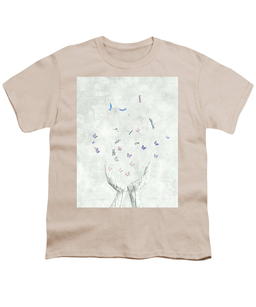 Surreal Youth T-Shirt featuring the digital art Heal by Jacky Gerritsen
